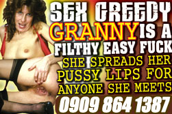 greedy granny phone sex